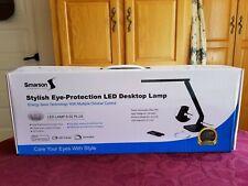 SMARSON STYLISH EYE-PROTECTION LED DESKTOP LAMP WITH USB PORT