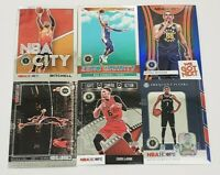 2019-20 NBA Hoops Premium Stock Inserts with Prizms and Rookies You Pick