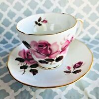 Footed Merrie England Bone China England Cup and Saucer set