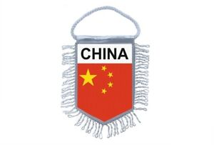 Mini banner flag pennant window mirror cars country banner china