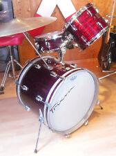 Vintage 60ties Trixon Swing Jazz drum set Schlagzeug - red stripes
