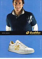 PUBLICITE ADVERTISING 054  2007   LOTTO  LEGANDA  baskets NEW GIGLIO LUCA TONI 2