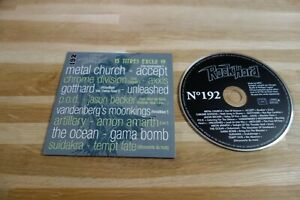 METAL CHURCH - ACCEPT - CHROME DIVISION - GOTTHARD - UNLEASHED CD ROCK HARD 192