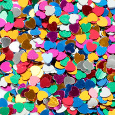 Shine Star Moon Love Heart Confetti Decoration Craft Birthday Wedding Party DIY