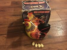 "Me 610 ""Hen Laying Eggs� 1960s Giant Tin nMint/Box Battery Op. Perfectly Working"