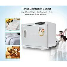 23L Hot towel Warmer Sterilizer Cabinet UV Heater Nail Spa Beauty Salon Facial