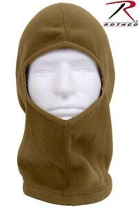 Coyote Brown Head, Neck & Face Cover Fleece Balaclava - Rothco Cold Weather Hood