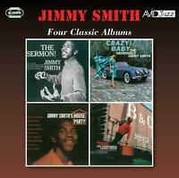 JIMMY SMITH - FOUR CLASSIC ALBUMS  2 CD NEW