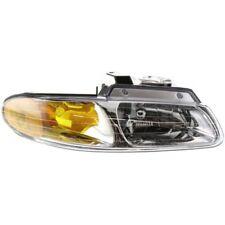 For Grand Caravan 96-99, Passenger Side Headlight, Clear Lens