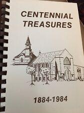 Brighton Colorado centennial treasures cook book 1884-1984 First Presbyterian