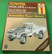 Haynes Toyota Pick-ups / Pickups & 4Runner / 4 Runner 1979-1995 Repair 2WD & 4WD