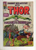 Journey Into Mystery #115 Thor! DETAILED ORIGIN LOKI & 2ND ABSORBING MAN! VG 4.0