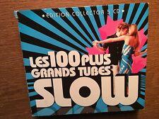 Les 100 Grands Tubes Slow [5 CD Box] Aphrodite's Child Ute Lemper 10cc The Cure