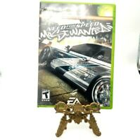 Need For Speed Most Wanted Microsoft Xbox Game And Case No Manual Good With Wear