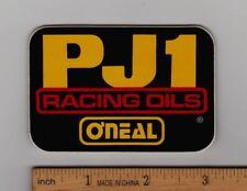 PJ1 RACING OILS ONEAL Vintage Motocross STICKER Honda Yamaha Suzuki Kawasaki KTM