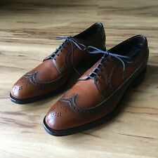 Euc 10.5B Vintage 1950s Copeg by Scholl Custom Grade Wingtip Blucher Dress Shoes