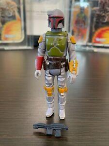 Star Wars Boba Fett 1979 VINTAGE Hong Kong RARE DARK BELT figure NICE!