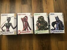 4 set - Catwoman Poison Ivy Harley Quinn Batgirl IRIDESCENT - DC Artist Alley