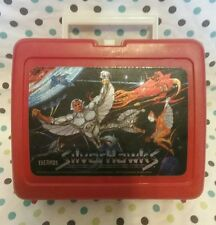 New listing 1986 red silver hawks thermos lunch box