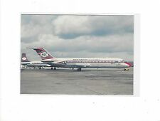 Martinair airlines Holland DC-9 Amsterdam airport pub. cont/l   postcard