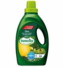 Osmocote LIQUID PLANT FOOD CONCENTRATE 1L Fruit, Citrus,Trees & Shrubs AUS Brand