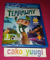 TEARAWAY SONY PS VITA  NEUF SOUS BLISTER VERSION 100% FRANCAISE