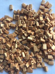 Czech Baby Pillow Rectangle Seed Beads 3mm x 5mm