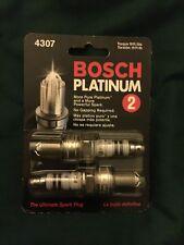BOSCH 4307 Platinum Plus +2 Sparkplugs - Two per Package