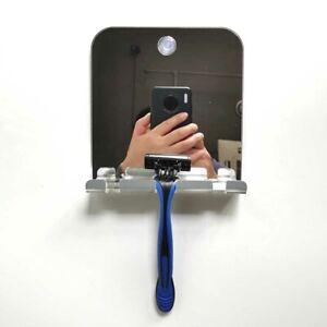 Badezimmerspiegel Antibeschlag-Duschspiegel nebelfreier Rasierspiegel Mit Hakens