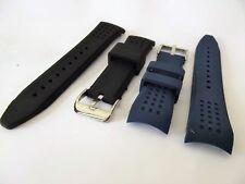 cinturini caucciù mod. nautica ansa curva rinforzata 22 mm watch prima qualità