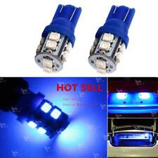 2pcs Blue T10 License Plate Indoor reading Light Bulbs LED 194 168 912 921 W5W