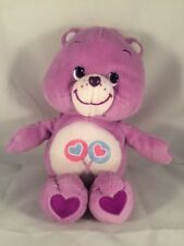 Care Bear Share Bear Plush ~ 2002 ~ 10 1/2 Inches ~ Excellent Condition