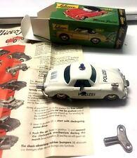 SCHUCO MICRO RACER PORSCHE 356 POLIZAI MINT IN BOX SCALA 1:43