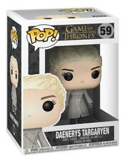 Funko POP! Vinyl Game of Thrones Daenerys Targaryen White Coat Figurine No 59