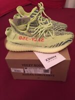 Adidas Yeezy Boost 350 V2 Semi Frozen Yellow US 7 EU 40 UK 6.5 Yebra