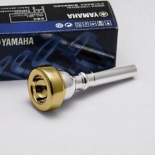 Genuine Yamaha Long Shank 13B4 24K Gold Rim & Cup Cornet Mouthpiece NEW
