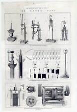 Destinaron-luz-electric light-dinamo-madera clave 1879 wallace lamp