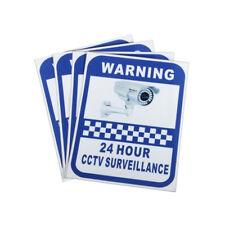 24 Hour CCTV Monitoring Surveillance Sticker Sign Warning Safety Decal