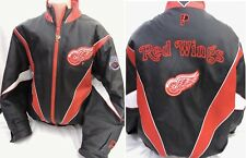 Vintage Red Wings Western Conference Pro Player Leather Jacket L by Daniel Young