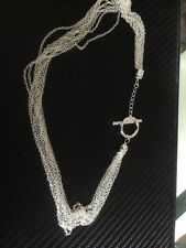 sterling silver multi link drop chain new  handmade stunning new for 2016