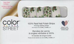 CS Nail Strips Berry Merry Holiday 2020 100% Nail Polish - USA Made!