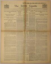 The British Gazette No. 5, 10 May 1926, edited by Winston S. Churchill