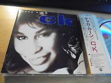 RAR CD JAPAN. CHAKA KHAN. CK. WITH OBI. MADE IN JAPAN