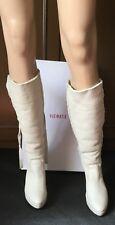 Winter boots on furVIC MATIE` Women's, light color, size 40 Stivali, pelliccia