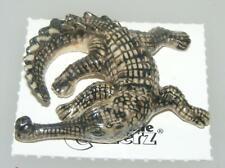More details for little critterz miniature porcelain animal figure gharial