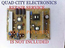 BN44-00445A Repair Service Samsung Power Supply PN59D550C1FXZA Etc,