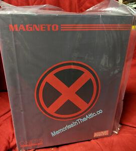 Mezco One:12 Marvel Magneto 2 Heads Action Figure On Hand Gun Effect Armor Max