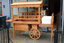 Display cart market stall wooden retail display stands vintage