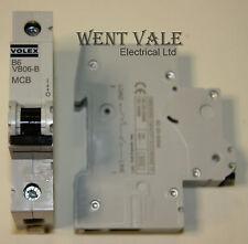 Volex VB Range - VB06-B - 6a Type B Single Pole MCB Latest Style Used