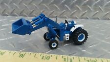 1/64 ERTL custom high detail spec cast Ford 8000 tractor loader farm toy s scale